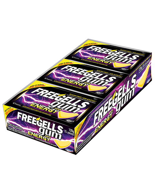 Freegells Gum Energy
