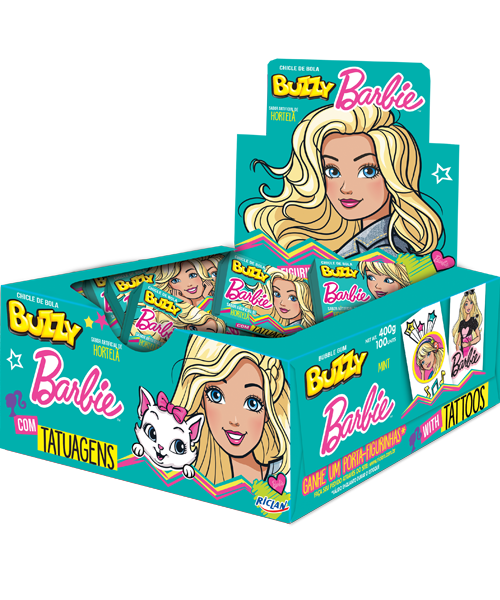 Buzzy Barbie Mint