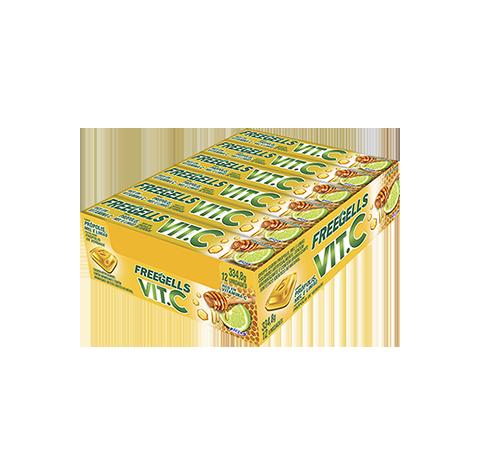 Freegells VIT C Citrus com vitamina C
