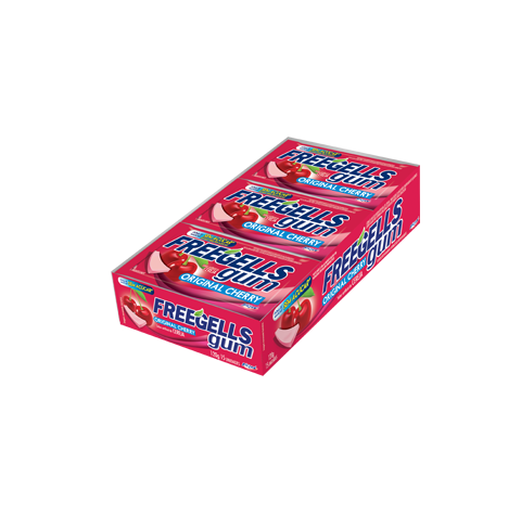 Freegells Gum Original Cherry