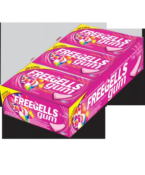 Freegells Gum Tutti-Frutti