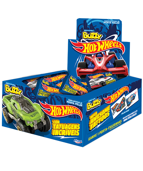 Buzzy Hot Wheels Polar Mint