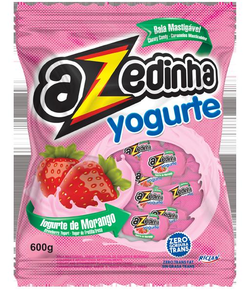 Bala Mastigável Azedinha Yogurte
