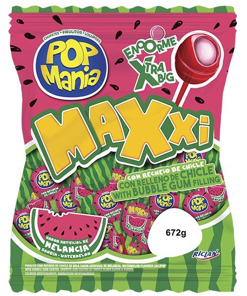Chupete Maxxi (Português do Brasil) Melancia