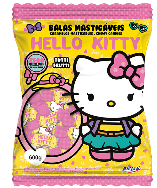 Hello Kitty Chewy Candy Tutti Frutti