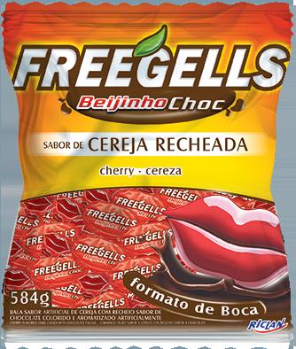 Freegells Beijinho Choc Cereja
