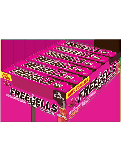 Freegells Choc Fresa