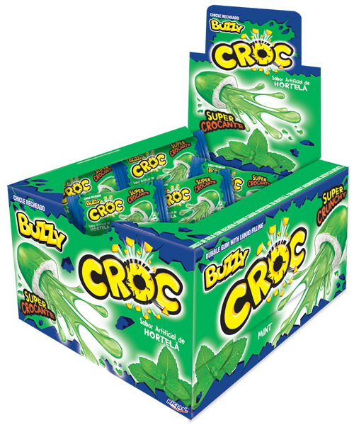 Buzzy Croc Hortelã