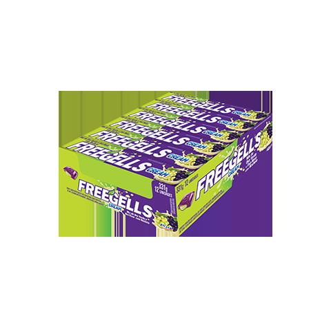 Freegells Cream (Português do Brasil) Uva Verde e Uva Roxa
