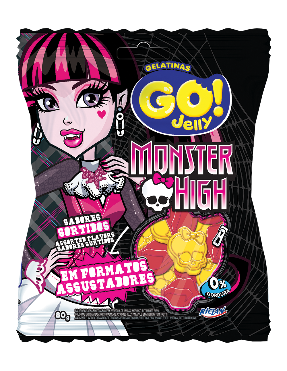 Go Jelly Monster High Sortida
