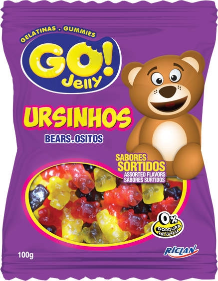 Go Jelly Formats Teddy Bears