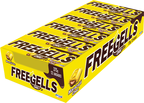 Freegells Choc Passion fruit