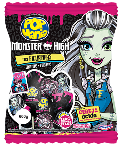 Pop Mania Monster High Cereja ácida