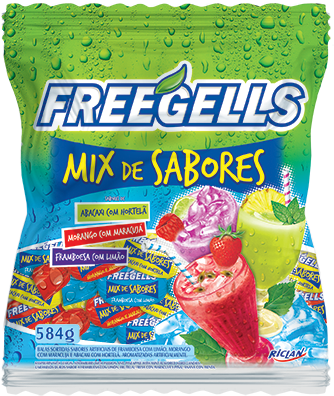 Freegells Mix Sabores II