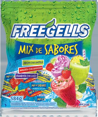 Freegells Mix Sabores II