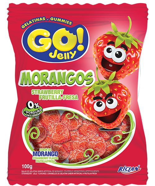 Go Jelly Formats Strawberry