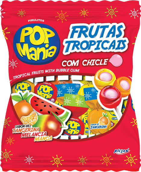 Pop Mania Frutas tropicais