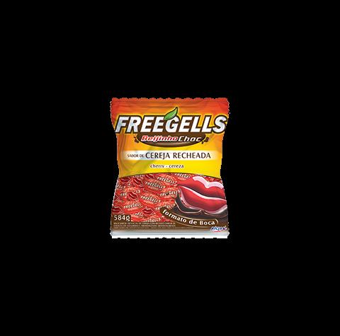 Freegells Beijinho Choc Cereza