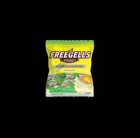 Freegells Bala Choc Melão