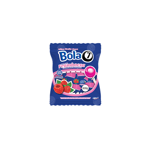 Pop Mania Bola 7 Raspberry Lollipop Raspberry