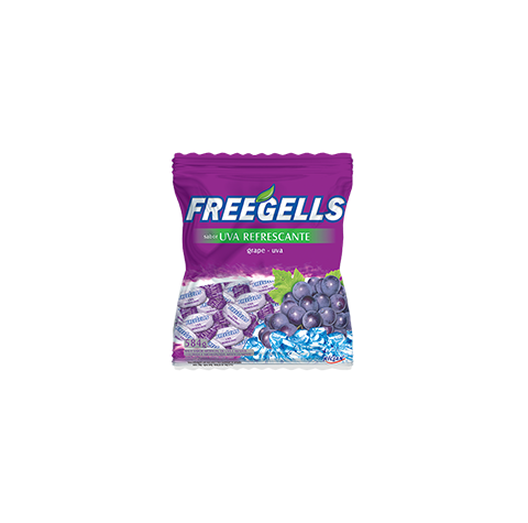 Freegells Refrescante Uva