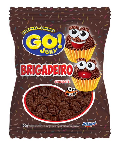 Go Jelly Formatos Chocolate