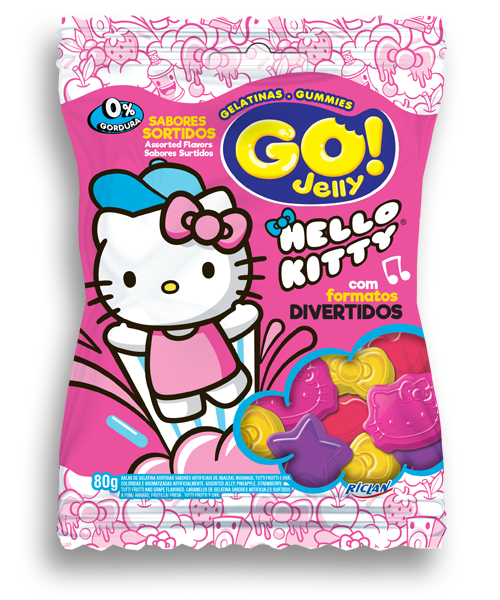 Go Jelly Hello Kitty Sortido