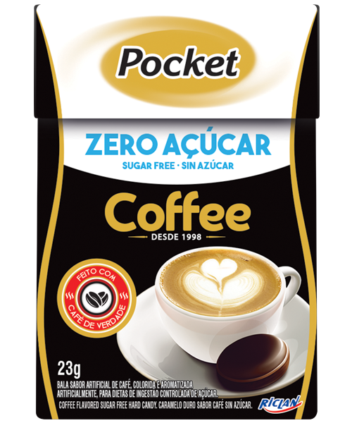 Pocket Zero Açúcar Fliptop Coffee