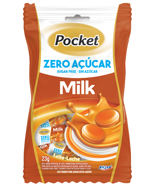 Pocket Zero Sugar Milk