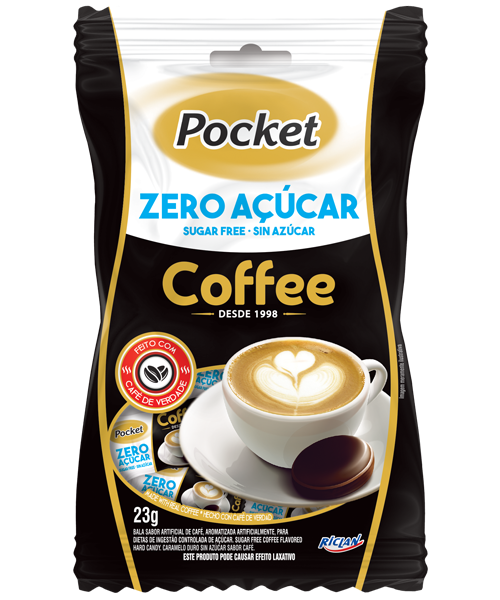 POCKET ZERO AÇÚCAR COFFEE