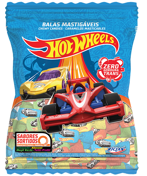 Chewy candy HOTWHEELS Assorted flavors