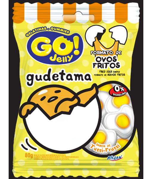 Go Jelly Gudetama Tutti-Frutti