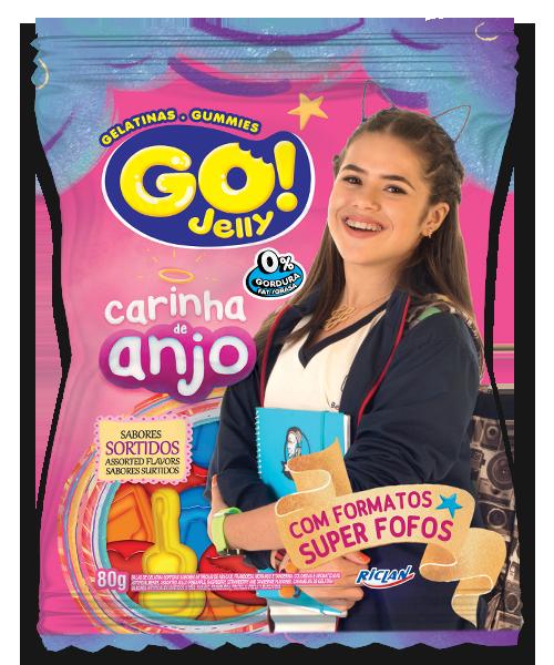 Go Jelly Carinha de anjo Sabores sortidos