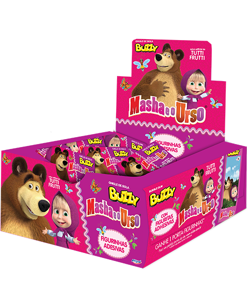 Chicle Masha and the Bear Tutti-Frutti
