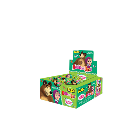 Chicle Masha and the Bear Mint