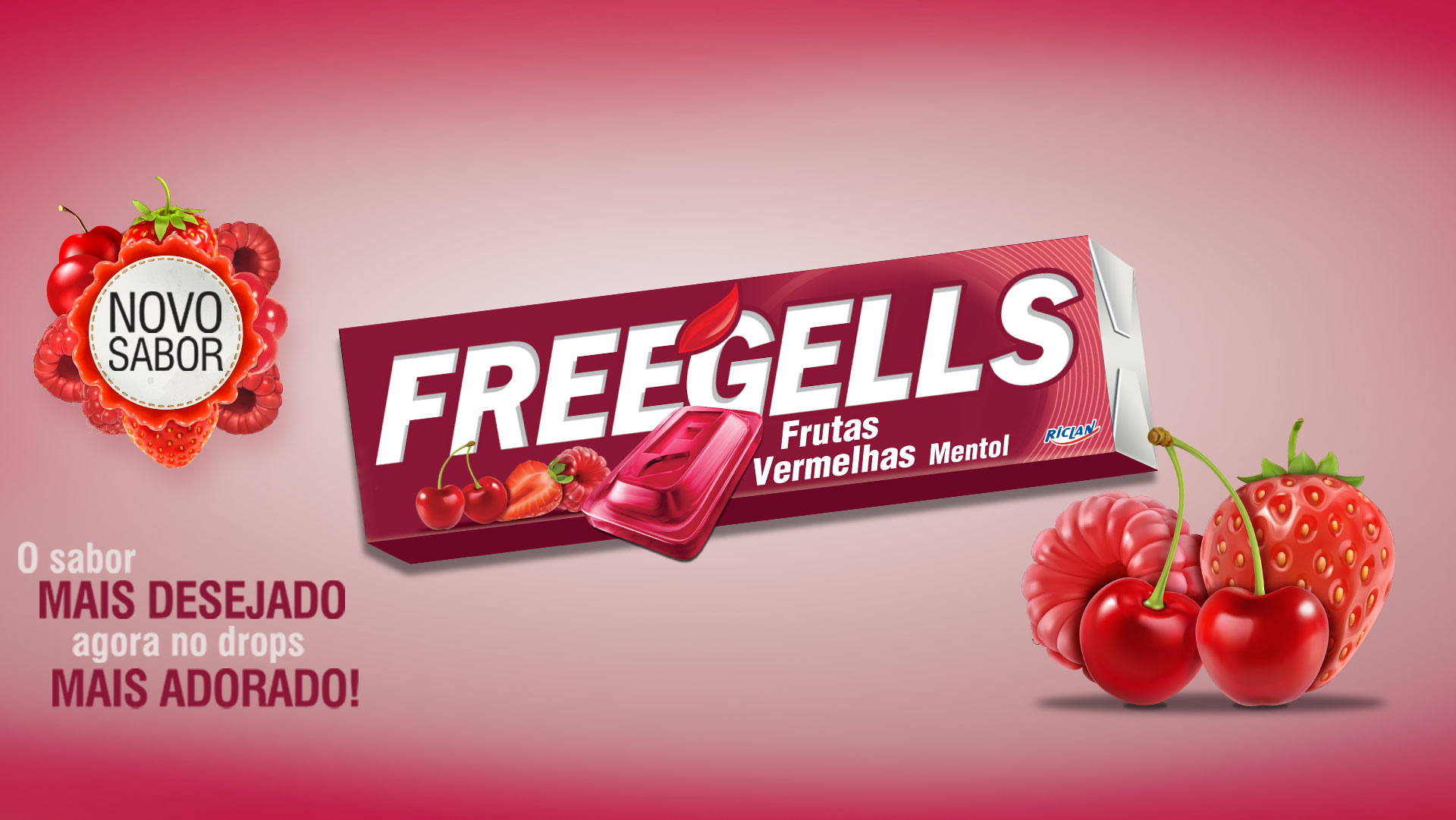 FREEGELLS RED FRUITS