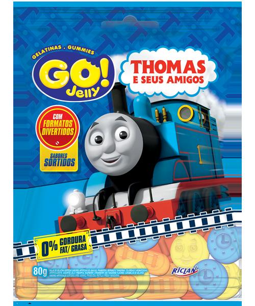 Go Jelly Thomas e Seus Amigos sortido