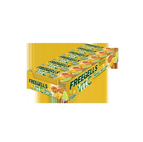 (Português do Brasil) Freegells Própolis, Mel e Limão (Português do Brasil) Própolis, Mel e Limão