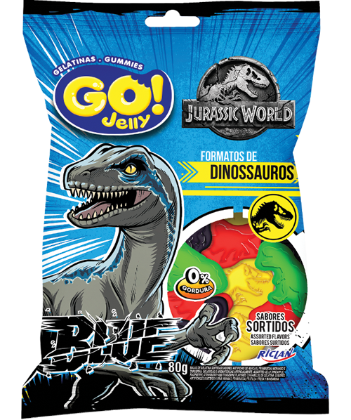 GoJelly Jurassic World (Português do Brasil) Blue