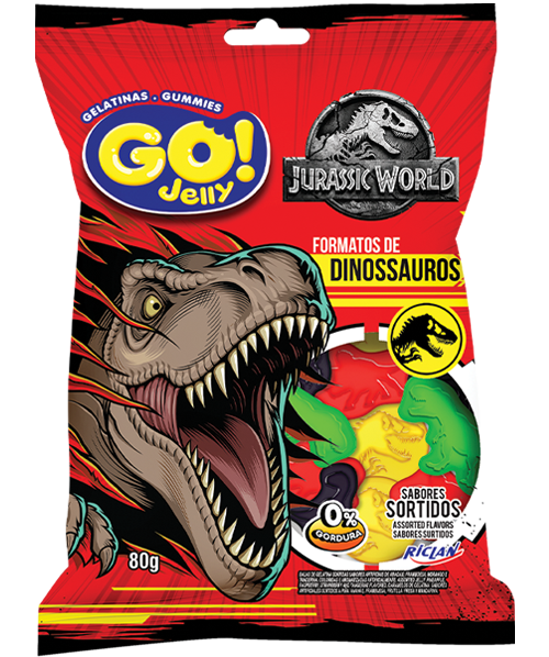 GoJelly Jurassic World (Português do Brasil) Red