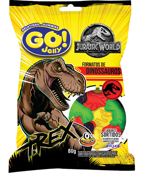 GoJelly Jurassic World Trex