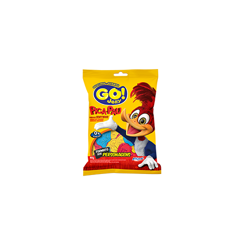 Go Jelly Woody Woodpecker Assorted